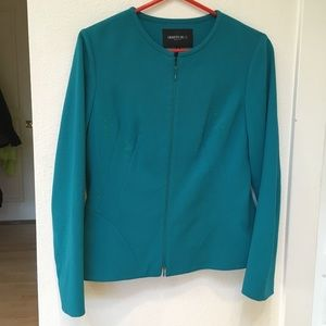 Vintage Lafayette Wool Zip-Up Jacket